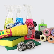 Janitorial, Cleaning and Toiletries Products