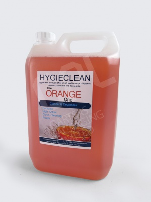 Hygieclean - The Orange One: Biodegradable 5 Litre