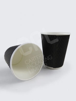 Black Ripple Cups