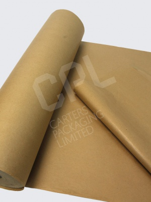 Ribbed Pure Kraft Paper Rolls