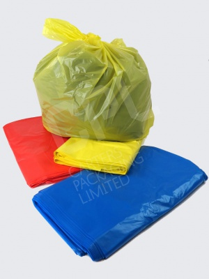 Coloured Recycled Bags