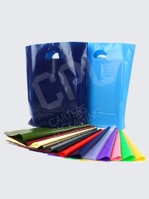 Coloured Plastic Variable Gauge Bags