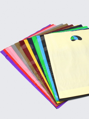 Colourful Selection of Plastic Carrier Bags