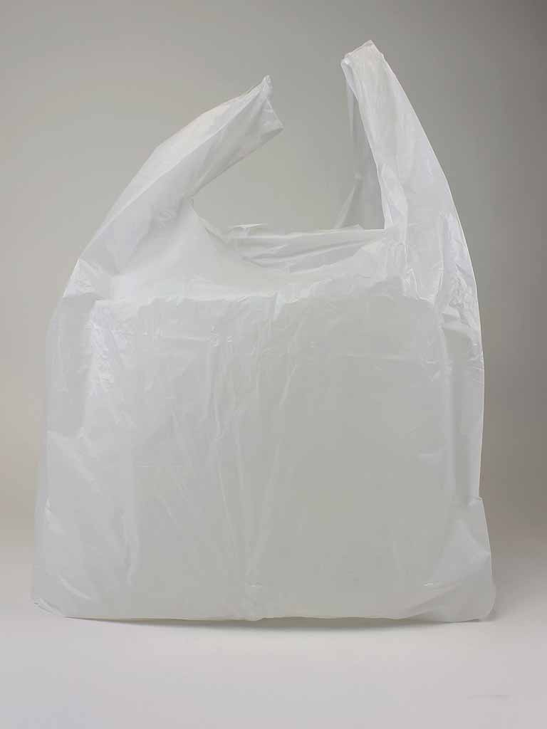 Bag Extra Large White Plastic Ping Carrier