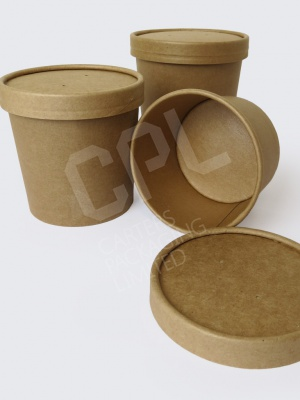 Kraft Soup Tubs and Lids
