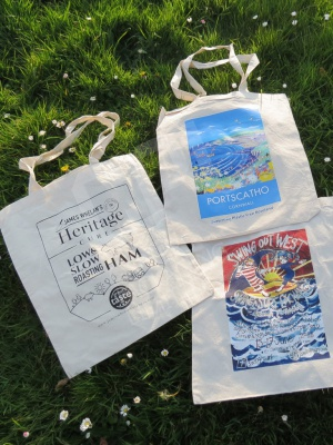Printed Tote Bag Selection