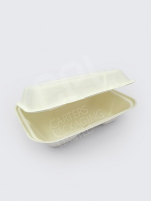 "Vegware 9 x 6"" (1 x compartment) Bio Box"