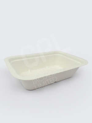 Compostable Food Tray by Vegware