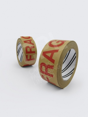 Fragile Paper Printed Tape