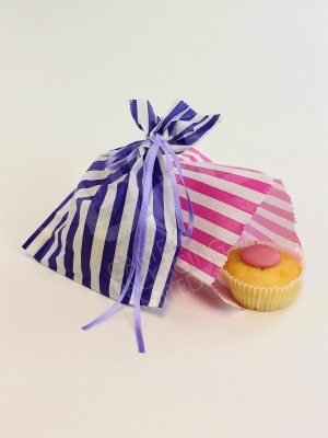 Candy Stripe Paper Sweetie Bags