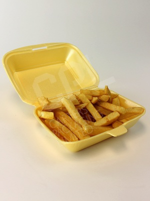 Large Potion of Chips, Disposable Container
