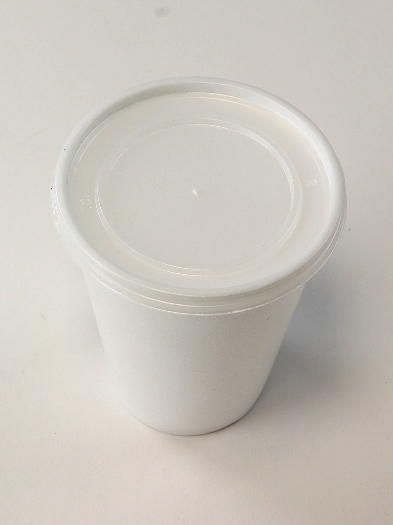 Cup With Lid : Polystyrene cups takeaway lids