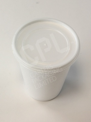 10oz Foam Cup with 10JL Lid
