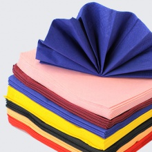Coloured Napkins and Serviettes | Various sizes and thicknesses