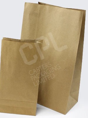 Brown Satchel Kraft Paper Bags