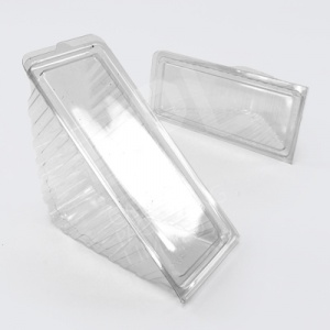 Plastic Sandwich Wedge | Clear Hinged Wedges