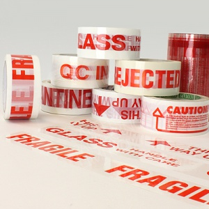 Printed Message Warning Tape