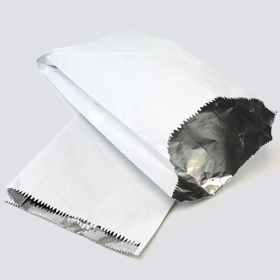FOIL LINED BAGS  GARLIC Foil Lined Paper Bag Food Takeaway Bag NAAN BAGS