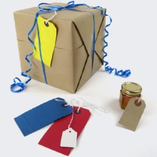 Product tags, product labels & labelling accessories