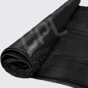 Black Mulch - UV Treated Polythene Sheeting