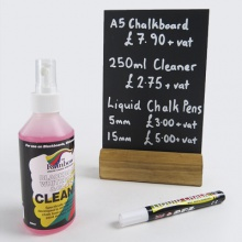 Liquid Chalk Pens | Cleaner