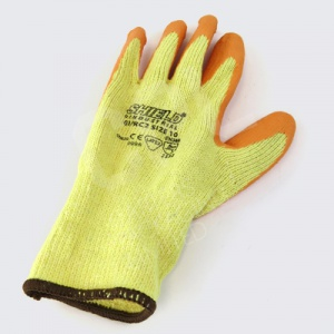 Polycotton Latex Coated Knitted Gloves