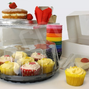 Cake Packaging, Cupcakes, Boxes, Stands and Accessories