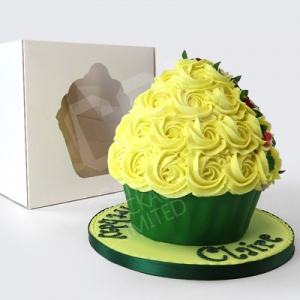 Jumbo Cupcake Window Box