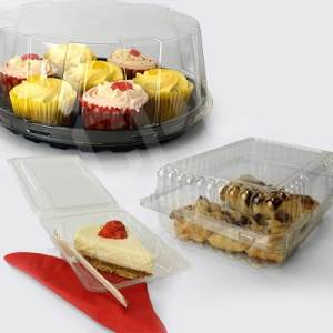 Plastic Cake Packaging
