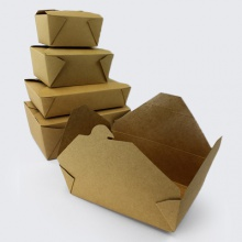 Food Safe Greaseproof Biodegradable Wax Lined Boxes