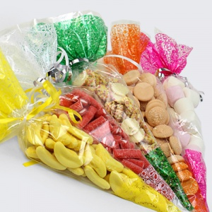 Sweet Cones | Plastic Candy Cone Bags