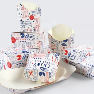 Fast Food Packaging | Printed Design Range