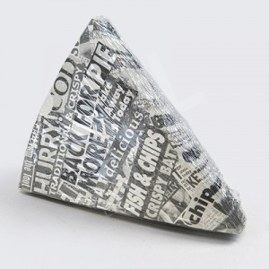 Newsprint Chip Scoop