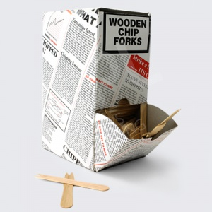 Wooden Chip Forks