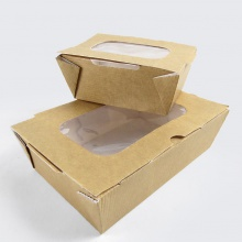 Cardboard Food Boxes with Window