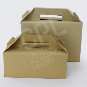 Kraft Carry Packs / Meal Boxes