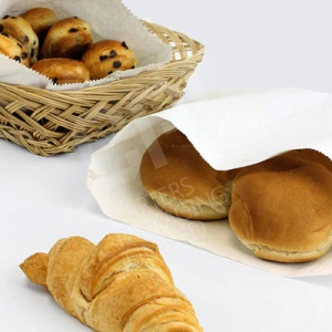 White Sulphite Paper Bags ideal for food use