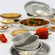 Aluminium Foil Takeaway Containers