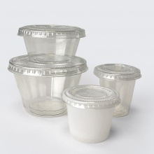Clear Portion Pots