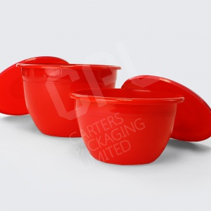 Pudding Bowls (Red)