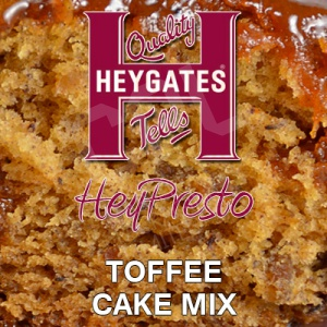 "Heygates ""HeyPresto"" Toffee Cake Mix (10KG)"