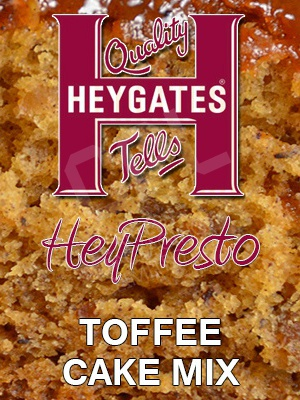 "Heygates ""HeyPresto"" Toffee Cake (Bag10KG)"