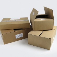 Single Wall Cardboard Parcel Boxes