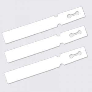 Loop-Lock Labels - White