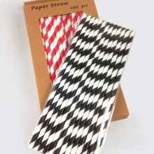 Paper Straws and Biodegradable Straws