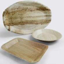 Wooden Plates, Bowls and Platters | Disposable Tableware