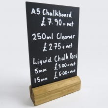 Chalkboards | Table Top Free Standing Menus