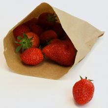 Brown Kraft Paper Bags Ideal for Food Use