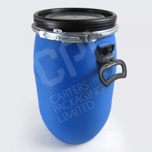 Plastic Open Top Drums & Gasket Lid