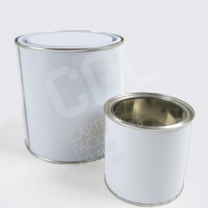 Metal Paint Tins - Lever Lids